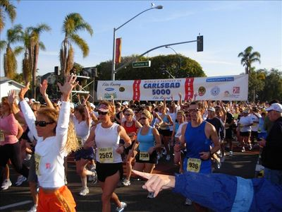 Carlsbad 5K - 10K - Marathon and 1/2 Marathon - Art