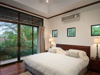 Playa Conchal villa photo - Upper Streetside Bedroom with private balcony.