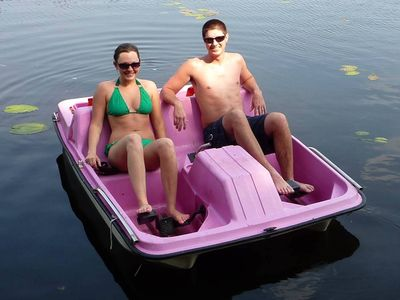 Optional Boats with Electric Motors & Paddle / Pedal Boats Available!
