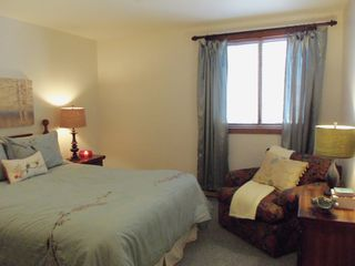 Pittsfield condo photo - Comfortable bedroom suite.