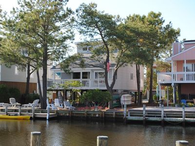 Charming canal front home in South Bethany Beach