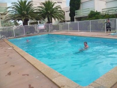 Apartment, pool and parking, beach 100 m, 4 beds, fully equipped