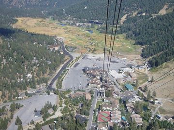 View from the Tram. The Village at Squaw is at the base of the mountain.