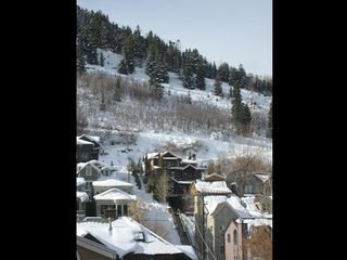 Park City condo photo - Winter scene from the balcony
