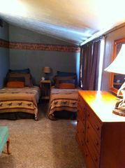 Bandera cottage photo - Cottage Side Bedroom