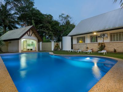Family villa with pool on Panglao Island close to beach and dive sites