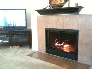 Scottsdale condo photo - Gas Fireplace & New Flat Screen TV