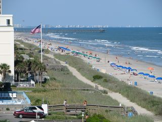 Blue Water Resort condo photo - View Of the Grand Strand From Our Balcony