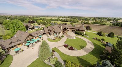97 Acres of paradise including a world class winery, 14,000 Square foot mansion