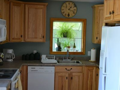 Cedarville house rental - User friendly tool supplied kitchen.