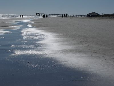 Tybeeview affordable beach front homeaway tybee island for Tybee island fishing pier