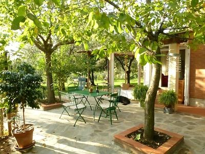Camaiore chateau / country house rental - south-east terrace