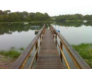 Our private dock on Taylor's Pond-kayak or boat here or out into marsh and Sound