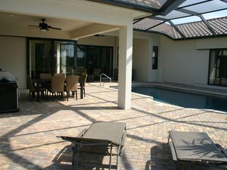 Briarwood Naples house photo - Fabulous lakefront home with a pool