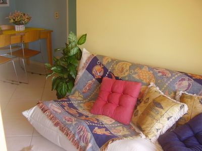 Apartment Decorated and Furnished in Gated Community with Large Garden