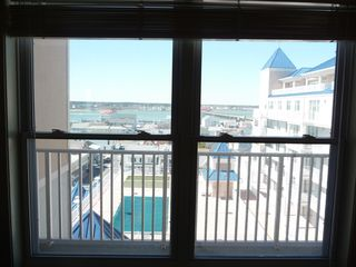 Belmont Towers Ocean City condo photo - Queen Bedroom View