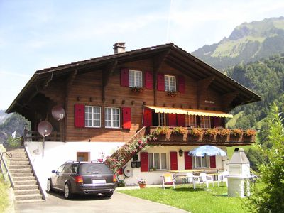 Lauterbrunnen apartment rental - Chalet Mon Désir with garden area