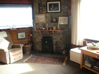 Mizen Head bungalow photo - On a cold evening snuggle up in front of the fire. Enjoy the complimentary coal!