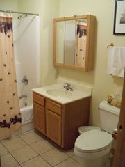 Crivitz condo photo - Bathrooms are crisp, clean, offer plush linens, and include a full tub/shower.