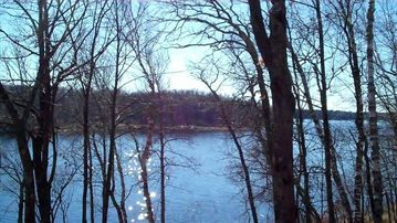 Longville cabin rental - View from deck