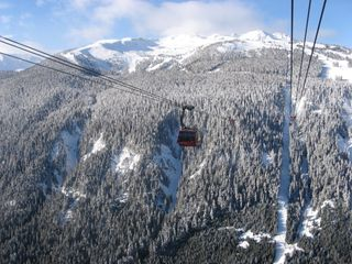 Whistler townhome photo - On the Peak to Peak Gondola