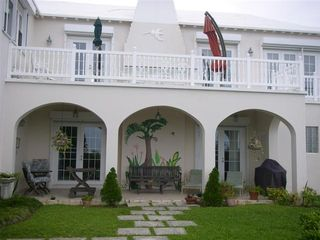 Bermuda villa photo - Rear Porch