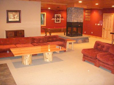 Newry cabin rental - Bar & Pool Room