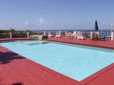 Enjoy one of the largest pools on St. John while basking in the fabulous views!