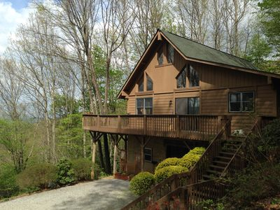 Top of the Line Asheville Mountain Cabin.
