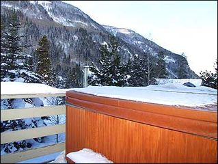 Vail house photo - Hot Tub Overlooks Mountains