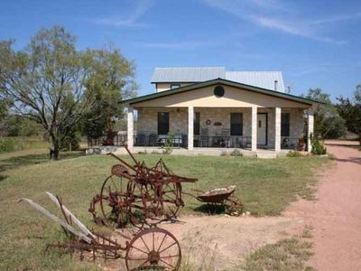 Fredericksburg house rental - Marschall Creek Gastehaus on it's own 7 acres just minutes from Fredericksburg.