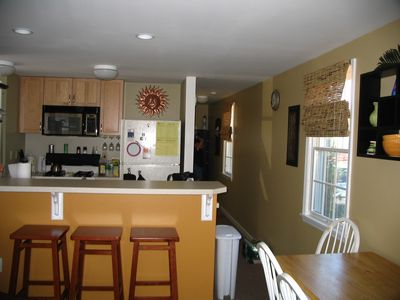 Fully equipped kitchen -downstairs