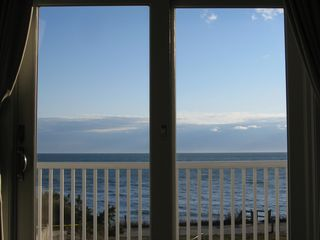 Dennisport condo photo - Ocean View from the Master Bedroom, which has a private deck facing ocean