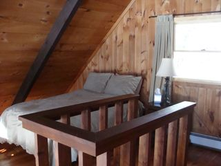 Loft bedroom - North Conway chalet vacation rental photo