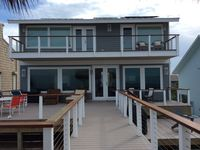 Completely Renovated in 2017 4 Bedroom/4 Bath Luxury Home on the No Drive Beach!