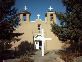 Taos house photo - The World heritage San Francisco de Asis Church, Ranchos de Taos 3 miles away