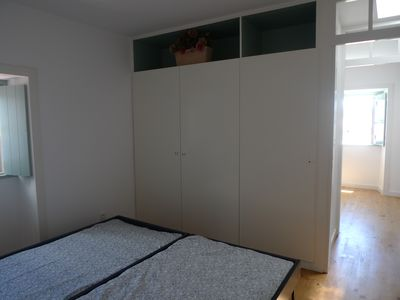Bedroom #2 with two individual beds