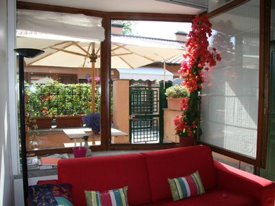 San Lorenzo: Modern, quiet apartment with terrace in the hip district of Rome