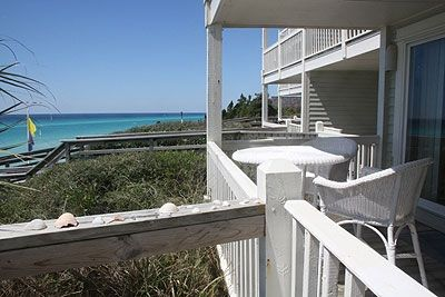 (1st level Unit) Walk from Porch Directly to Boardwalk that goes to Beach!