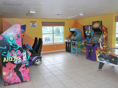 Island Club Clubhouse Game Room