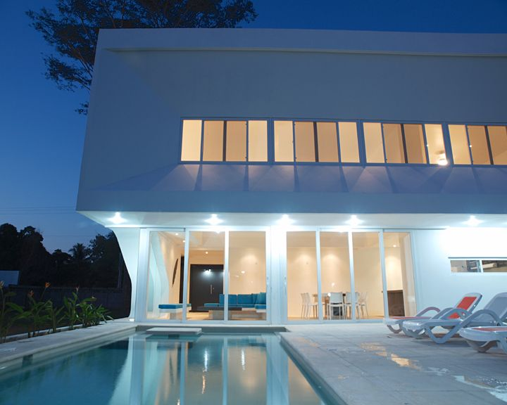 Modern beach house in 39 costa del sol 39 homeaway el for Modern house rental