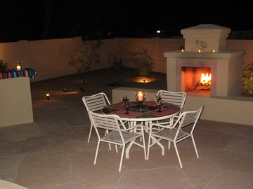 Large Flagstone Patio - Great for relaxing and entertaining.