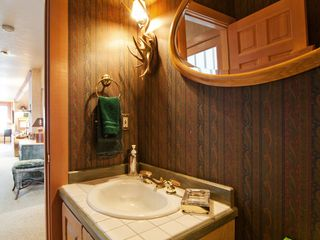 Deer Valley townhome photo - Powder room off living, dining and kitchen floor