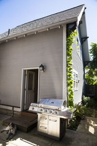 Private entry. Enjoy grilling on the patio. Help yourself to garden-grown herbs.