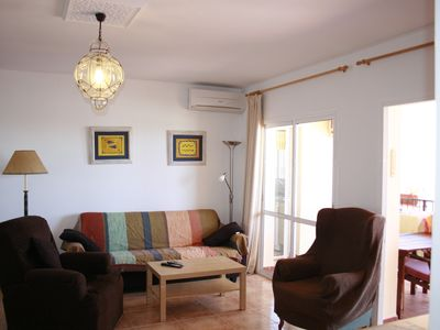 1.3 Apartment - Living with private terrace with Ocean view.Air conditioning.