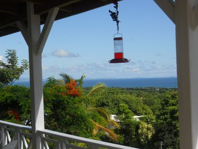 Vieques Island house rental - View from La Solana