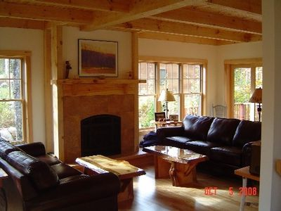 Carrabassett Valley house rental - Living Room