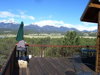 Salida house photo - View to the Collegiate Peaks from deck
