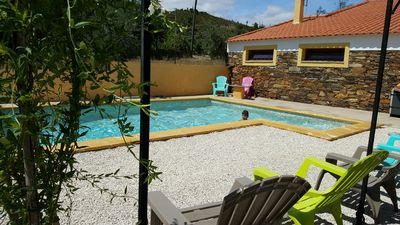 typical villa beside the beach Cerejeira for 2 to 11 people