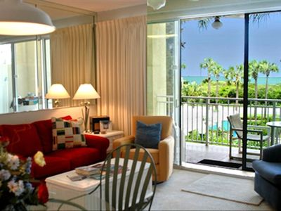 Check out the ocean view from the Living room